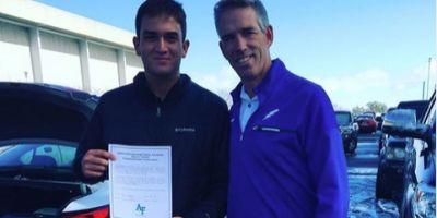 Congrats To Brian Garcia – Air Force